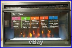 NEW 26 inch Dimplex electric firebox fireplace insert with glass and remote