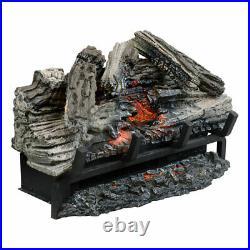 NEW Napoleon NEFI24H 24 Woodland Electric Logset Fireplaces (5000BTU/1500W)