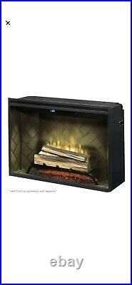 NEW Open Box Dimplex 36 Revillusion Electric Fireplace Built In Firebox-RBF36