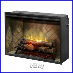 NEW&SEALED Dimplex RBF36P 36 Revuillision PORTRAIT Electric Fireplace (31H)