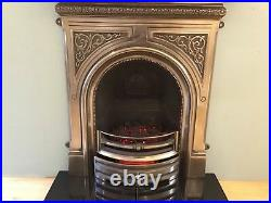 NEW Victorian Arched Cast Electric Fire (14.5 / 37.5cm)