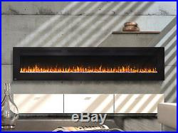 Napoleon 100-In Allure Wall Mount Electric Fireplace