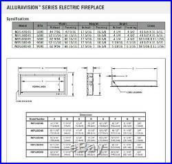 Napoleon Alluravision Slimline Linear Electric Fireplace, 60