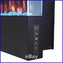 Napoleon Allure Series Vertical Wall Mount/Built-In Electric Fireplace, 16 x 32
