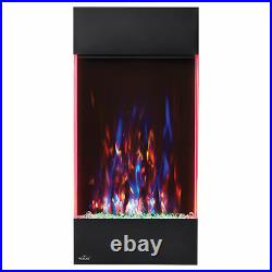 Napoleon Allure Vertical LED Flame Electric Fireplace, 32 Inch Tall (For Parts)