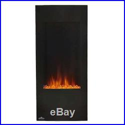 Napoleon Azure Vertical 38 Wall Mount Electric Fireplace with Remote (Used)