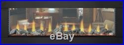 Napoleon CLEARion 50 See Thru Modern Electric Fireplace with Fire Glass Embers
