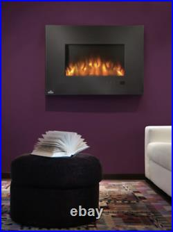 Napoleon EFL32H Flush Mount Electric Fireplace Modern Linear Glass Touch Screen