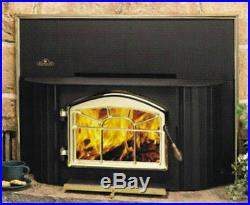 Napoleon EPI-1402M Wood Fireplace Insert with Surround, and Blower Included New