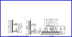 Napoleon Inspiration ZC Direct Vent Gas Insert Millivolt Ignition GDIZC