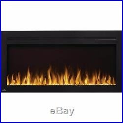 Napoleon NEFL42HI Purview 42 Inch Linear Electric Wall Mount Fireplace with Remote