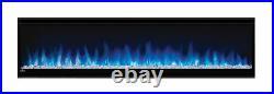 Napoleon NEFL60CHS Alluravision 60 Slimline Wall Hangin/Built Electric Fireplace