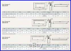 Napoleon NEFL60FH-MT Allure Phantom Series Linear Slimline Wall Mount/Built-In E