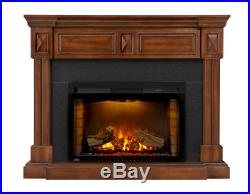 Napoleon NEFP29-1215BW Braxton Electric Fireplace Mantel/Entertainment Package