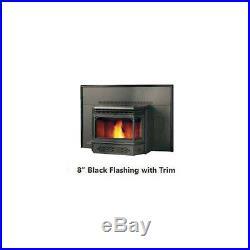 Napoleon NPI45 Pellet Burning Fireplace Insert with Flashing, Blower Fan