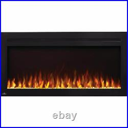 Napoleon Purview 42 Linear Electric Wall Mount Fireplace with Remote (Open Box)