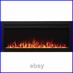 Napoleon Purview 50 Inch Electric Wall Mount Fireplace with Remote (Open Box)