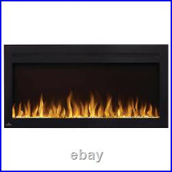 Napoleon Purview Series Linear Wall Mount Electric Fireplace, 42-Inch
