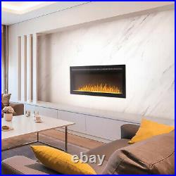 Napoleon Purview Series Linear Wall Mount Electric Fireplace, 60-Inch