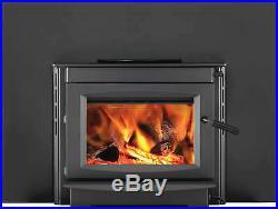 Napoleon S20i Wood Burning Fireplace Insert with Cast Iron Door