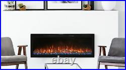 New Modern Flames Spectrum Slimline Wall-Mount/Recessed 60 Electric Fireplace