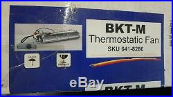 New Thermostatic Fireplace Blower Fan Bkt-m 5