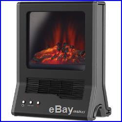 Nice Electric Fireplace Ultra Ceramic Home Heater 1500 Watt Infrared Portable