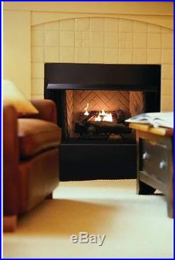 Oakwood 24 In Vent Free Propane Gas Home Fireplace Logs Thermostatic Control G
