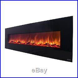 OnyxXL 80005 72 Wall Mounted Electric Fireplace