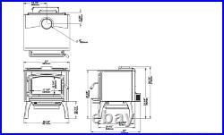 Osburn 2000 WOOD STOVE 75,000 BTU OB02015 Free Standing Free Shipping