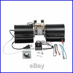 P-Tech GFK-160 GFK-160A Fireplace Blower Fan Kit for Heat & Glo Quadra-Fire Fire