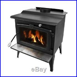 Pleasant Hearth 2200-sq ft Wood Burning Stove