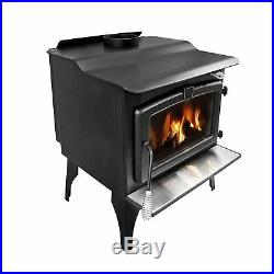 Pleasant Hearth 2,200 Sq Ft Wood Burning Stove Blower Large LWS-130291 Fireplace