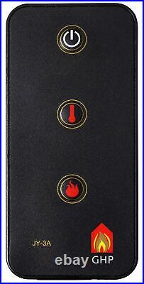 Pleasant Hearth LH-24 Electric Fireplace Log Set Black