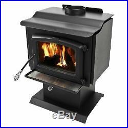 Pleasant Hearth Small Wood Burning Stove Black