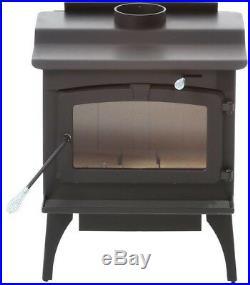Pleasant Hearth Wood-Burning Stove 2,200 sq. Ft. Blower Ash Drawer Heat Shield