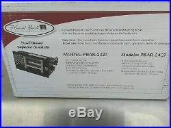 Pleasant Hearth Wood Stove Fireplace Blower Fan 3 Speed Adjustable Gas or Wood