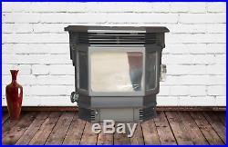 QuadraFire 1200i Fireplace Insert Pellet Stove Demo-Only burned in store 2014