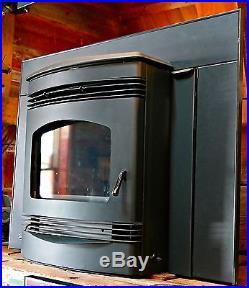 QuadraFire Santa Fe Fireplace Insert Pellet Stove Demo Only burned in store