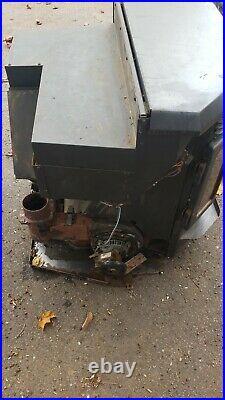 Quadra Fire Classic Bay 1200I Insert Fireplace Pellet Wood Burning Stove Heater