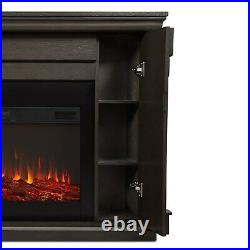 RealFlame Carlisle Electric Fireplace X-wide 6 Color Infrared Firebox 2 Colors