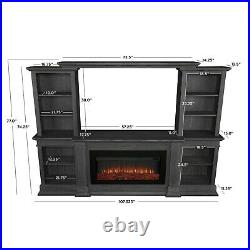 RealFlame Monte Vista Fireplace 6 Color Infrared Electric Media Unit 3 Colors