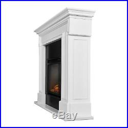 RealFlame Thayer Electric Fireplace Heater Real Flame White