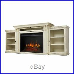 RealFlame Tracey Electric Fireplace Media Unit Grand Infrared X-Lg Firebox White
