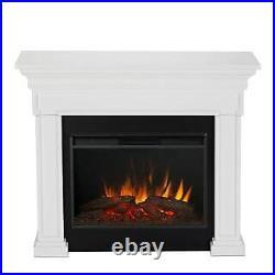 Real Flame 6720E-RW Mantel Fireplace