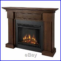 Real Flame 7910E-CO Hillcrest Electric Fireplace in Chestnut Oak NEW
