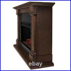 Real Flame Electric Fireplace Callaway Grand Infrared X-Lg Firebox Oak