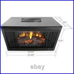 Real Flame Electric Fireplace Indoor Usage Heating Capacity 1.40 kW