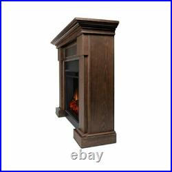 Real Flame Hillcrest Electric Fireplace Chesnut Oak