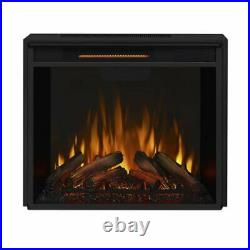 Real Flame Silverton Indoor Electric Fireplace in Black